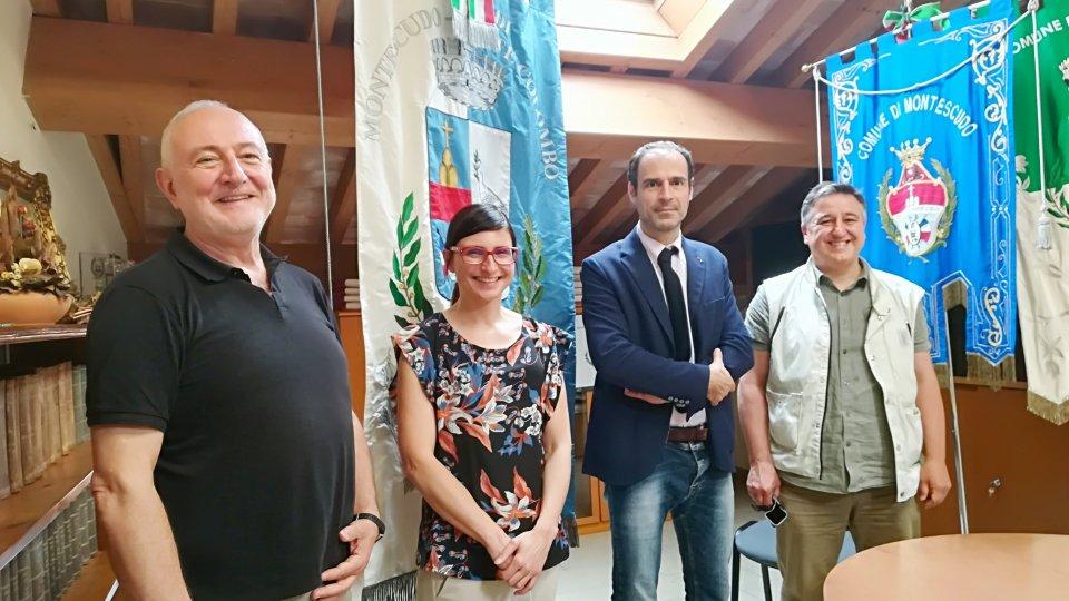 Il Comites incontra la presidente dell'Unione dei Comuni della Valconca ed il vicesindaco di Montescudo - Montecolombo