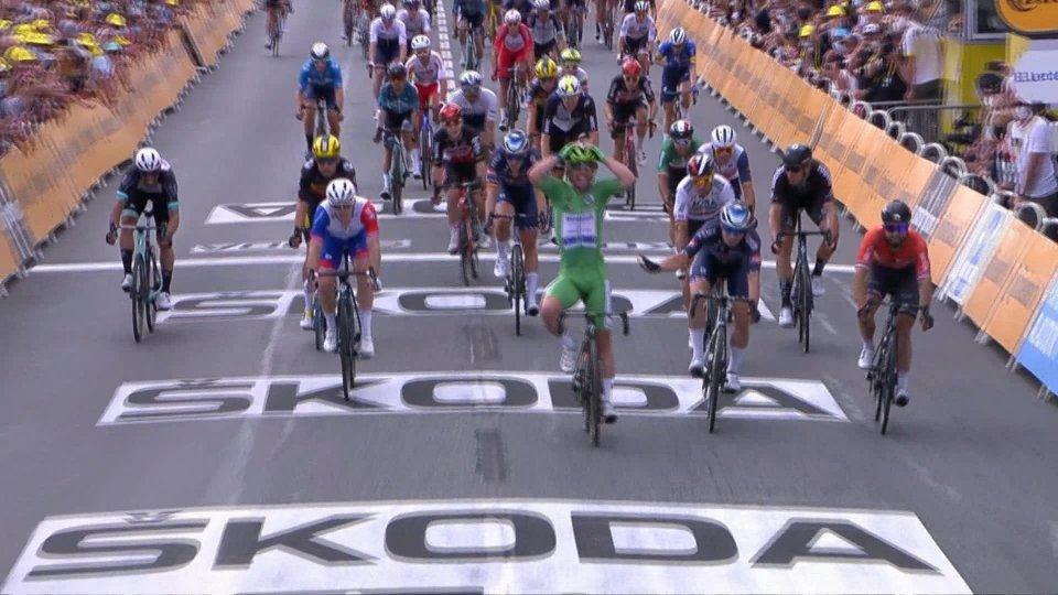 Fulmine Cavendish, altro sprint vincente