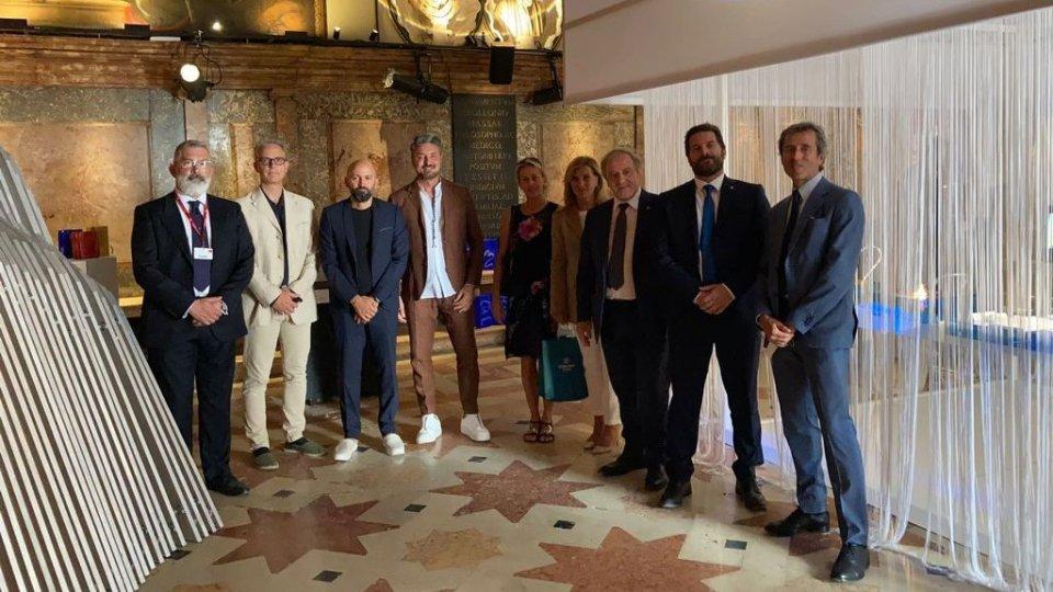 Segreteria Cultura: Visita degli Eccellentissimi Capitani Reggenti della Repubblica di San Marino alla Biennale di Architettura 2021 di Venezia