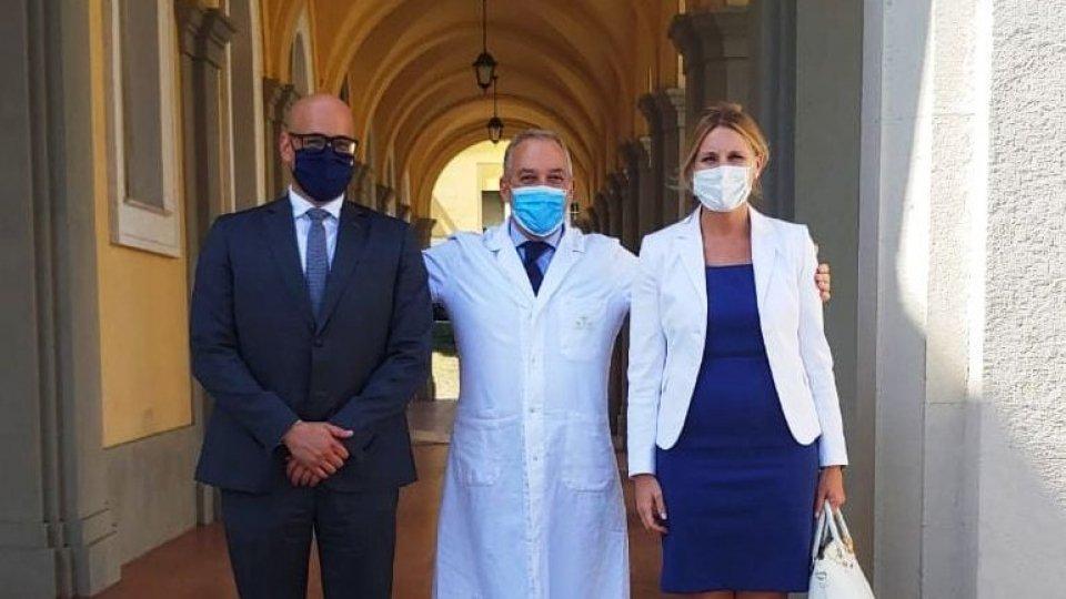 La foto dell'incontro a Roma @Iss