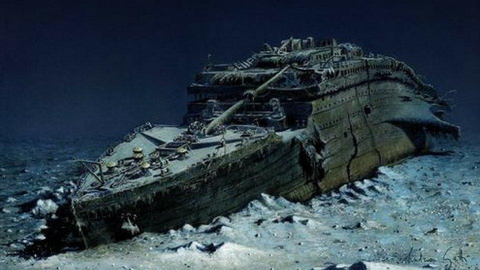 Visite subacquee guidate al Titanic,