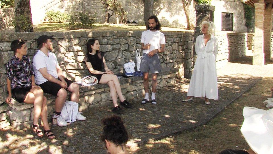 Nel video l'intervista all'artista Enrico Floriddia