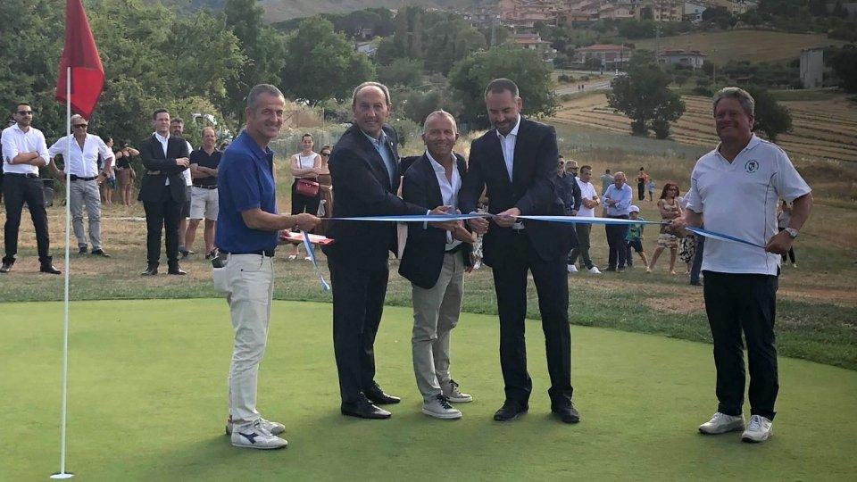 Inaugurato ieri il nuovo Golfdrome di San Marino
