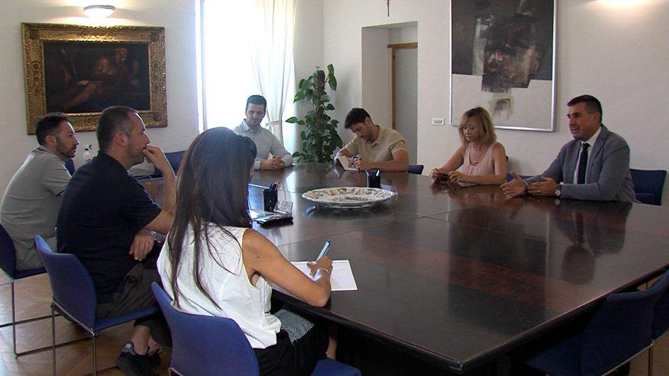 Direttivo della Consulta per l'Informazione incontra il Segretario Lonfernini