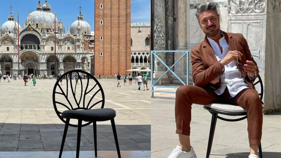 Una sedia ecologica per gli Archivi del San Marino Green Festival