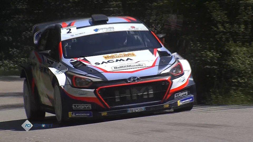 Rally della Marca: Fontana in testa dopo 4PS, ritiro per Pedersoli