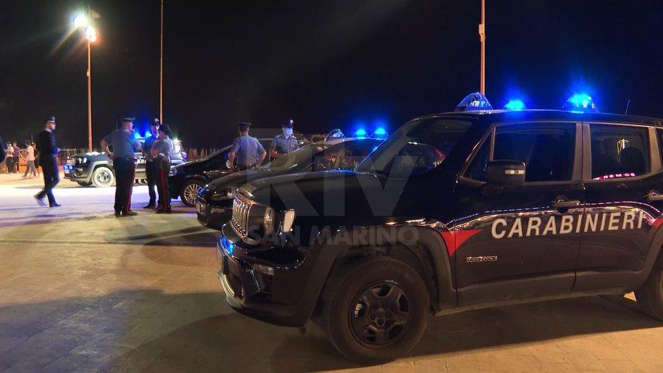 Riccione, maxi controllo nelle aree della movida: due arresti 4 denunce