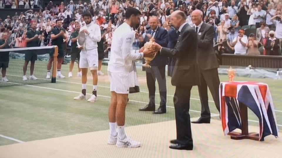 Wimbledon: un grande Berrettini non basta, vince Djokovic