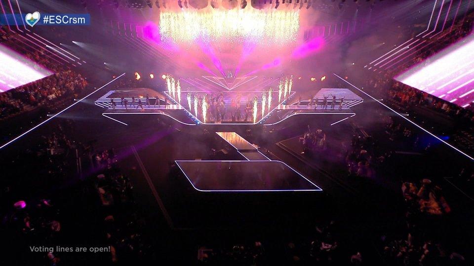 Foto dall'Eurovision 2021