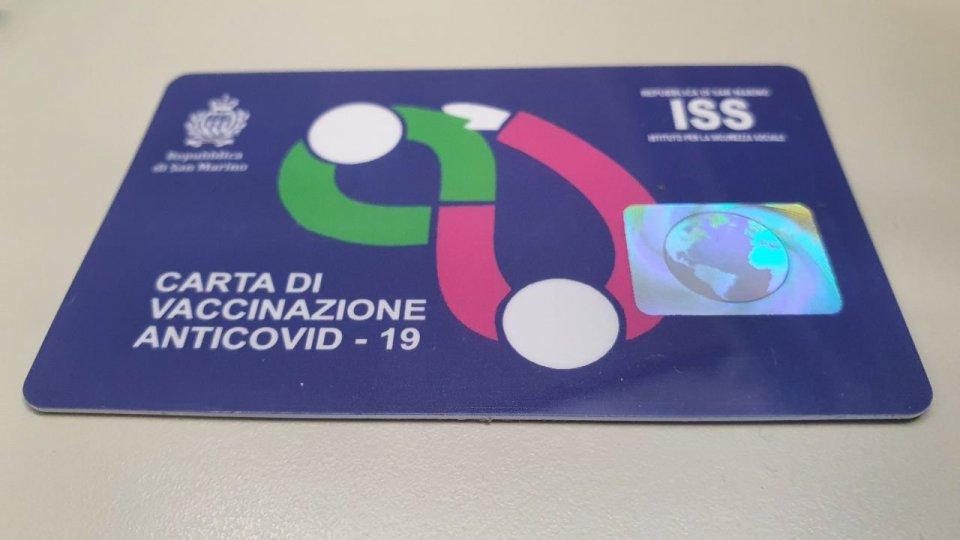 San Marino: disponibili nuove tessere vaccinali