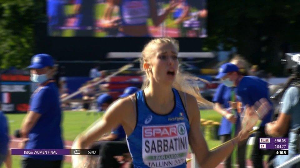 Tallinn, Europei U23: l'Italia vince il medagliere