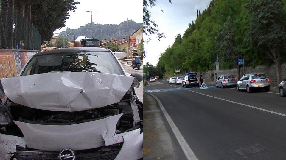 l'incidente sulla sottomontana e quello sulla superstrada