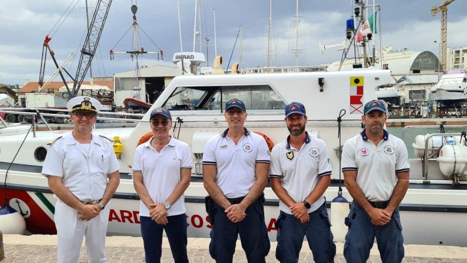 Mare sicuro: ricognizione fascia costiera con Prefetto di Rimini