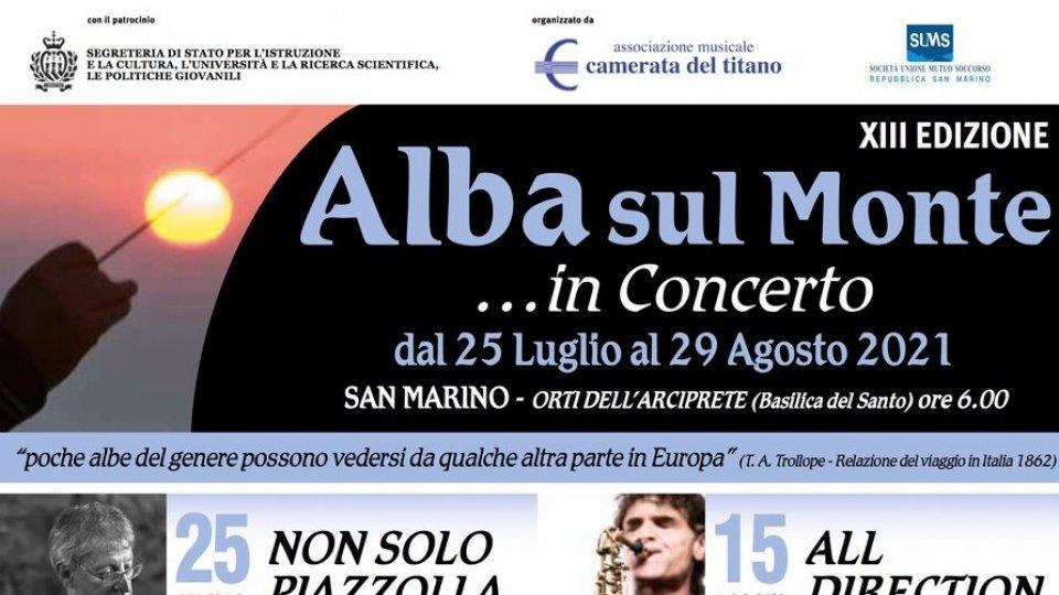 Alba sul Monte... in Concerto 2021: aperte le prenotazioni