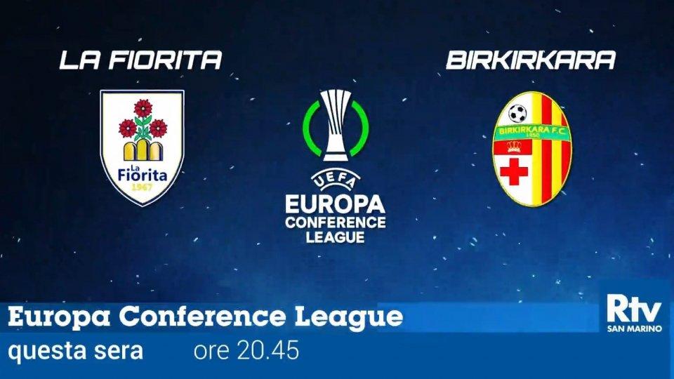 Conference League: La Fiorita - Birkirkara in diretta su San Marino RTV dalle 20:45