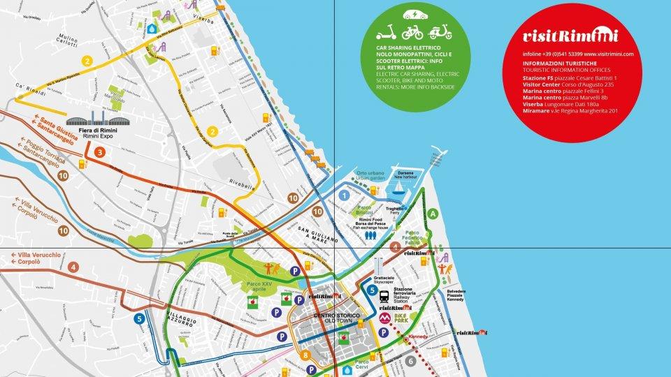 La Rimini sostenibile in una mappa by VisitRimini