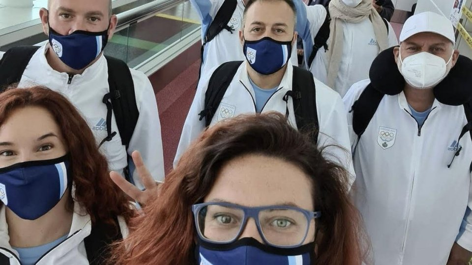 Olimpiadi: San Marino Team è a Tokyo