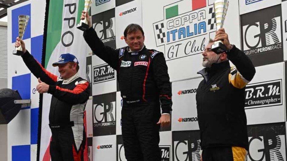 Stefano Valli vince Gara 1 a Vallelunga