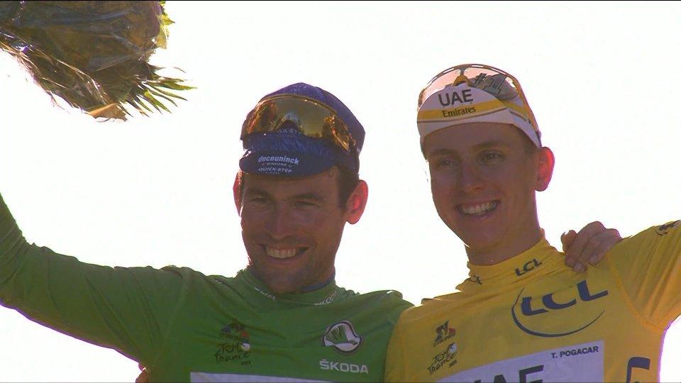 Tour de France, Pogacar si conferma campione
