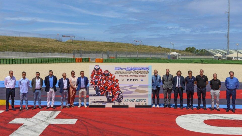 Gran premio Octo di San Marino e Riviera di Rimini; ecco il poster firmato Aldo Drudi