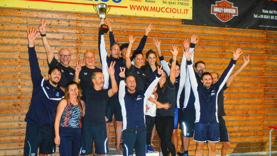 San Marino campione d'Italia nuoto master F
