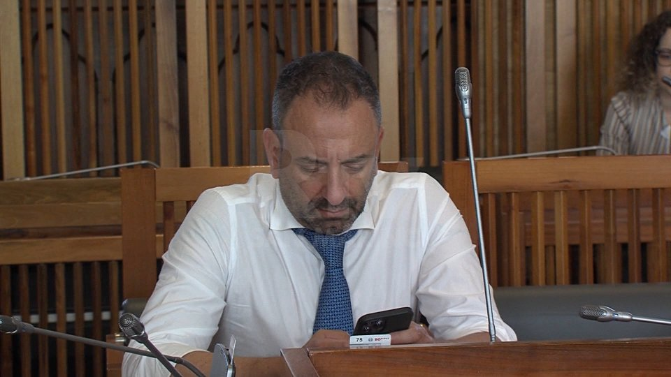 Il Segretario agli esteri Luca Beccari