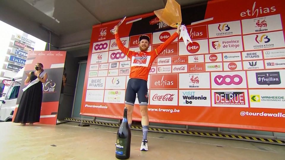 Quinn Simmons vince il Tour di Vallonia