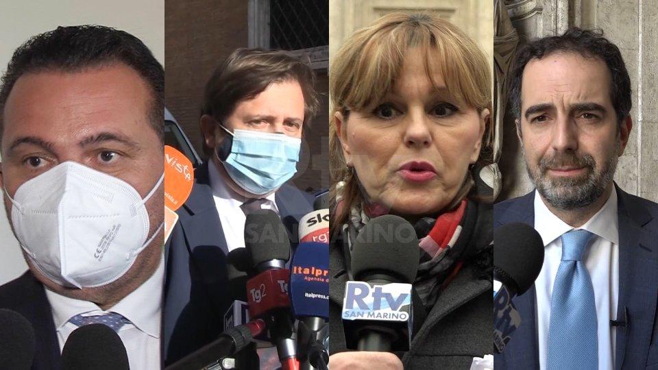 Raffaele Donini, Pierpaolo Sileri, Paola Boldrini e Alessandro Alfieri