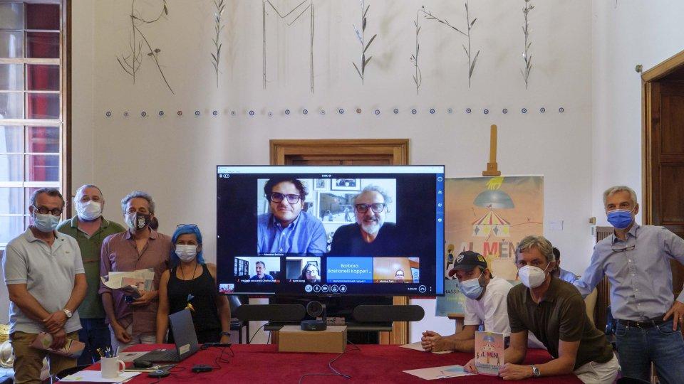 'Al Meni' all'edizione straordinaria:  il Circo 8 e ½ di Massimo Bottura apre le sue porte  nella piazza dei sogni del nuovo Fellini Museum