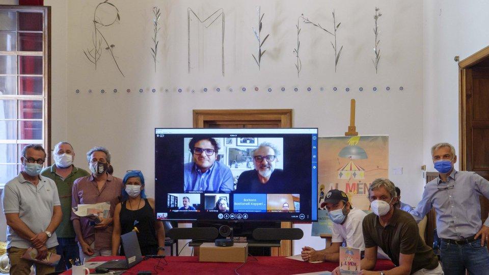'Al Meni' e Bottura, in Romagna evento con il Green pass