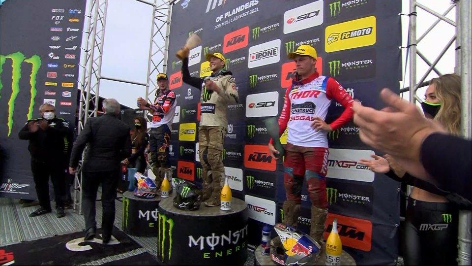 Romain Febvre vince il Gran Premio del Belgio