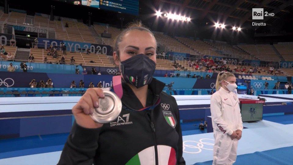 Vanessa Ferrari si regala l'argento