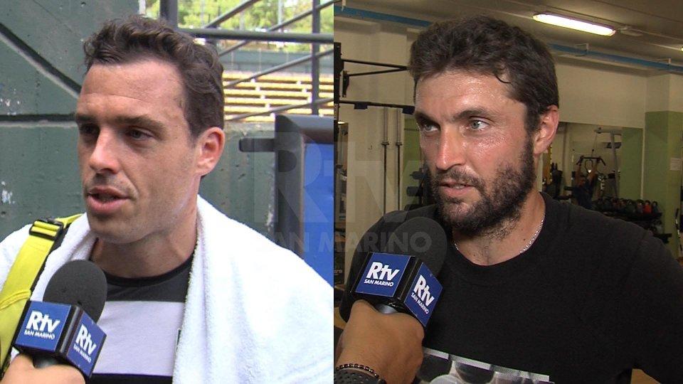 Nel video l'intervista a  Marco Cecchinato e Gilles Simon