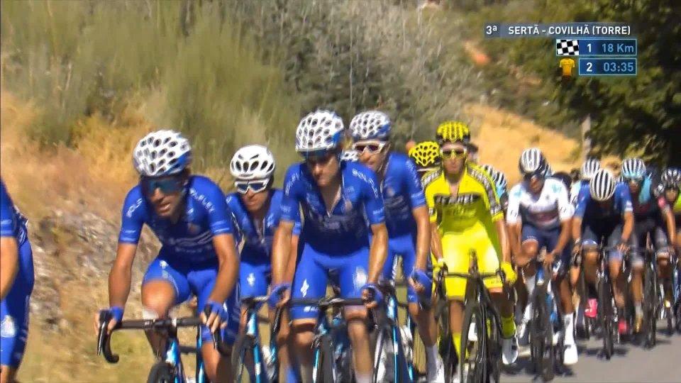 Vuelta del Portogallo, quarta tappa a Figueiredo
