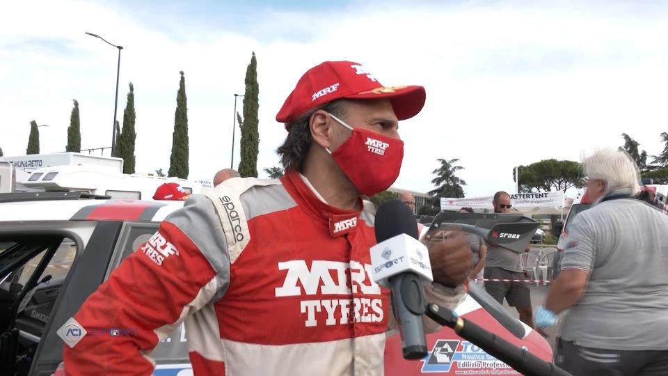 Nel video l'intervista a Paolo Andreucci, vincitore Rally Città di Arezzo