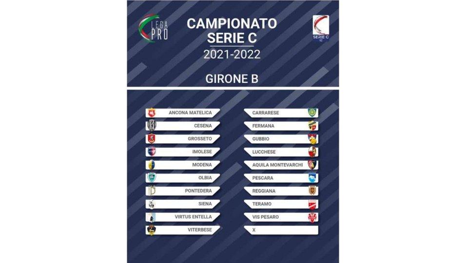 Ufficiali i gironi di Serie C