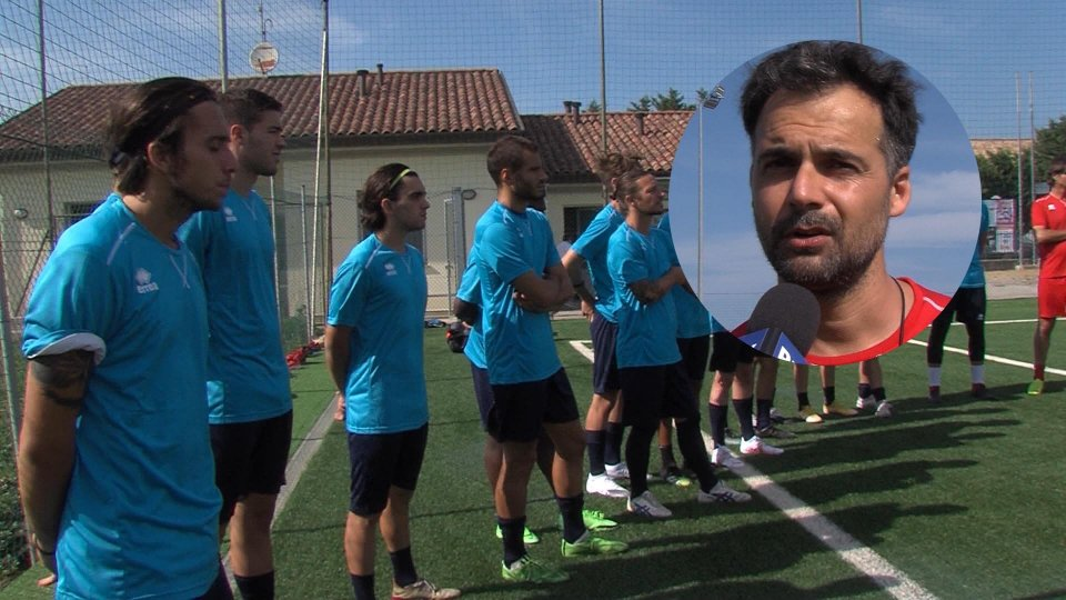 Nel video l'intervista a Gianni D'Amore, allenatore Victor San Marino