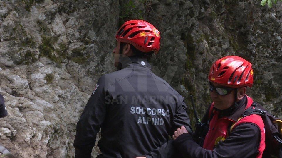 Infortunio in montagna: grave un riminese