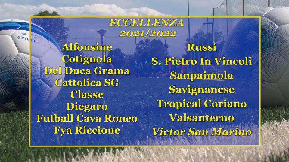 Eccellenza: ecco il girone del Victor San Marino