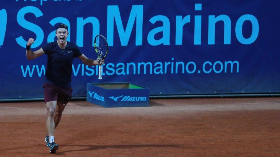 Credit San Marino Open/Calabrò