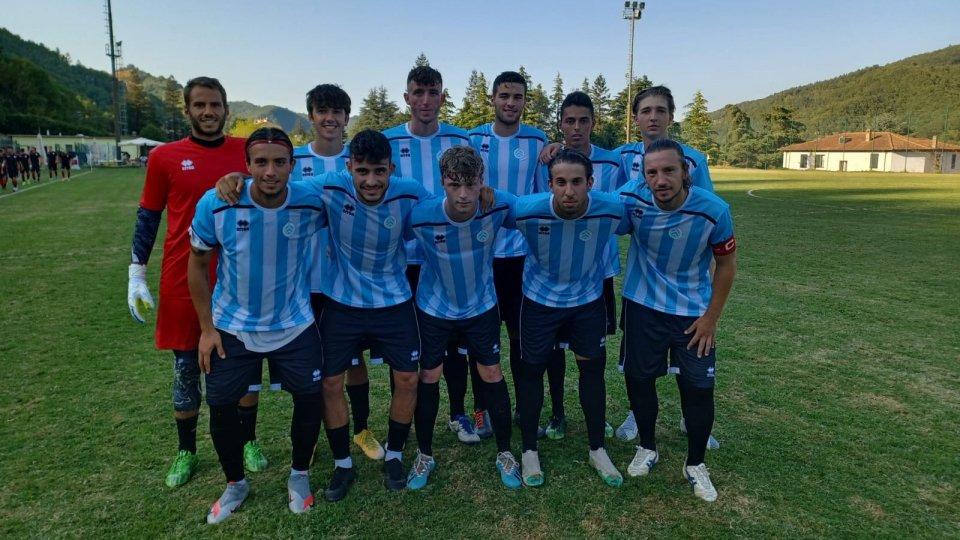 La formazione del Victor San Marino impegnata contro il Rimini