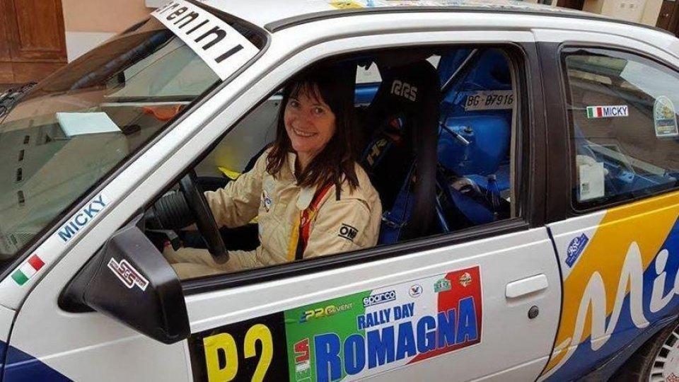 La svizzara Micky Martinelli al Giro dei Castelli di San Marino