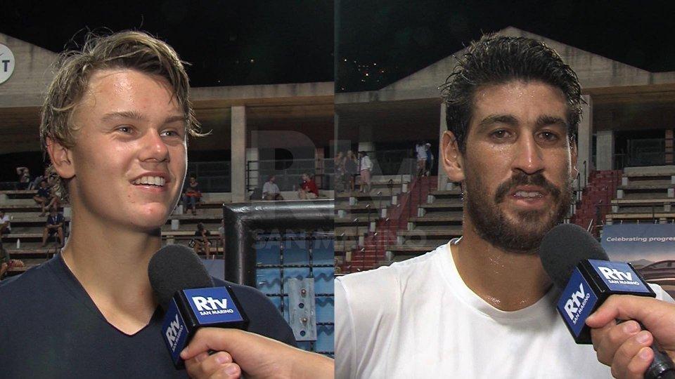 Nel video l'intervista a Holger Rune ed Orlando Luz