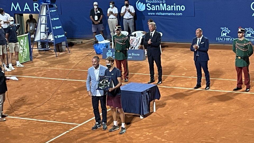 Rune trionfa al San Marino Open