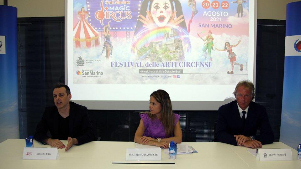 San Marino Magic Circus: il circo in piazza dal 20 al 22 agosto a San Marino