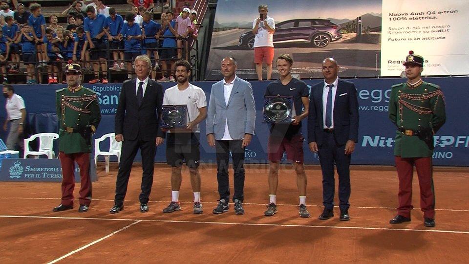 Nel video l'intervista ad Holger Rune, vincitore San Marino Open