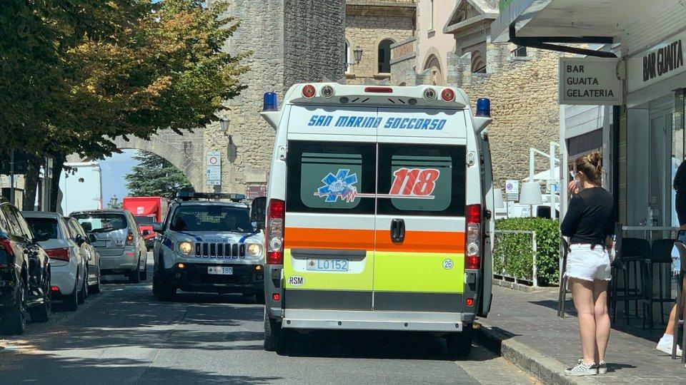 Malore per una turista: intervengono 118 e Gendarmeria