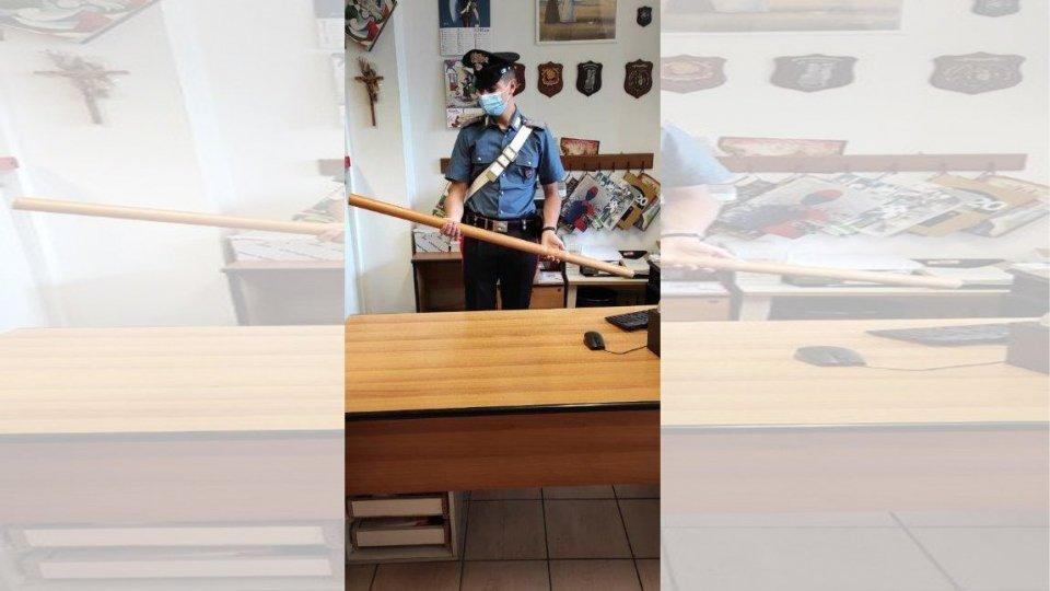 Riccione: minacce e aggressione armati di bastoni, arrestati 3 giovani