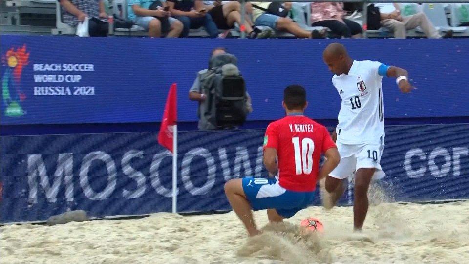 Partiti in Russia i Mondiali di Beach Soccer
