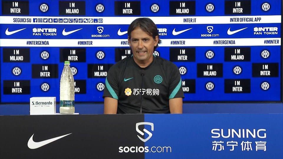 Nel video Simone Inzaghi in conferenza stampa